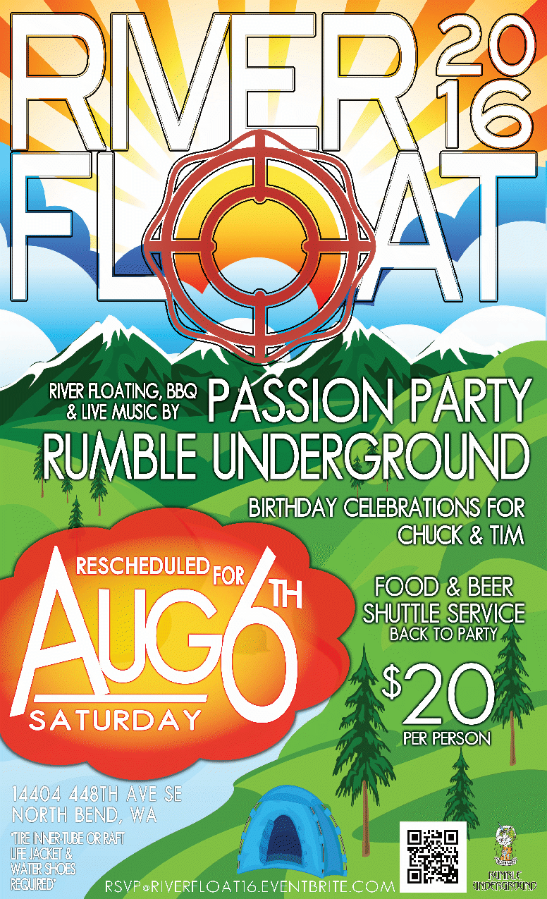 River Float 2016 Flyer